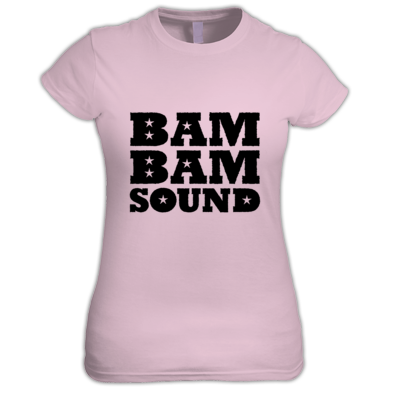 Bam Bam Sound T-Shirt Ladies