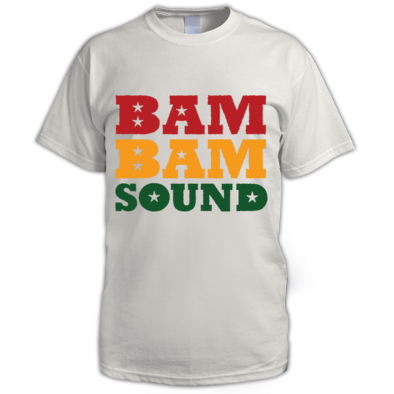 Bam Bam Sound Colour Logo