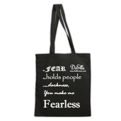 Fearless Lyric T-Shirt - White
