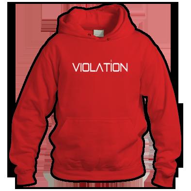 Unisex Violation Hooded Sweatshirt