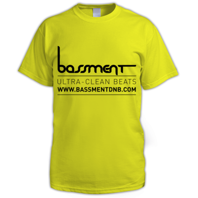 Bassment Ultra Clean Logo Mens Tee