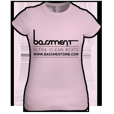 Bassment Ultra Clean Logo Womans Tee