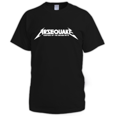 Arsequake - Keepers Tee
