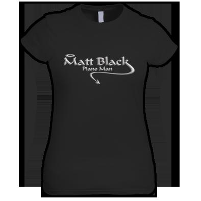 Women's T-Shirt with Silver Logo
