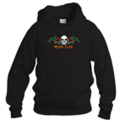 Mean Bone - Rose Skull logo