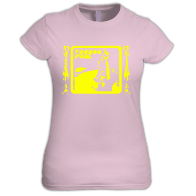 Yellow on Pink