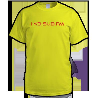 I <3 SUB.FM Tee