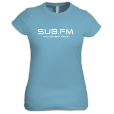 Sub.FM Where Bass Matters Women's Tee