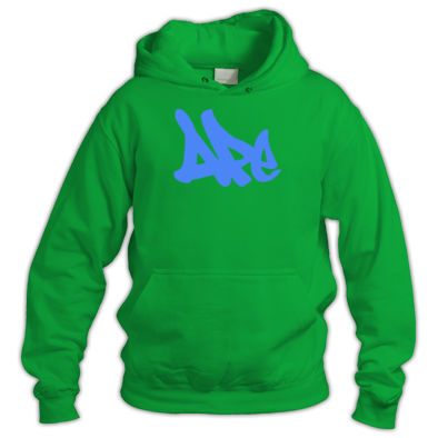 Blue on Irish Green