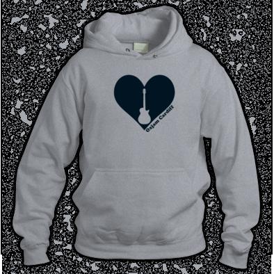 Oxjam Cardiff Heart Hoodie