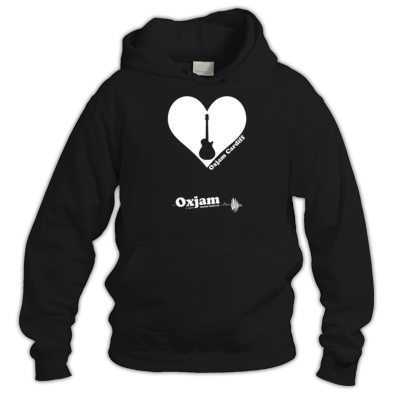 Oxjam Cardiff Hoodie - design by Matt Needle