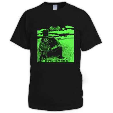 Evil Lvrks Shirt (flexi print - one colour)