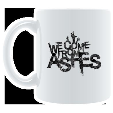 New Logo textured black mug