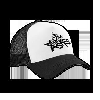 Black Logo Trucker Cap