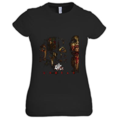 Undead Cover Womens Shirt