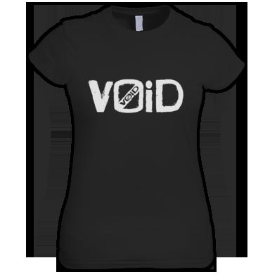 V0iD Logo White