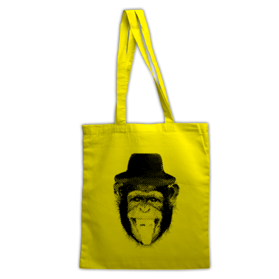 The Kubricks Chimp Tote Bag