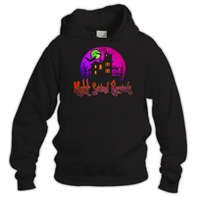 Night Sound Records Logo design Hoodie
