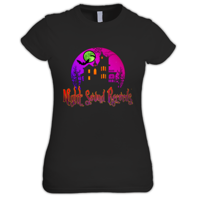 Night Sound Records Logo T shirt design