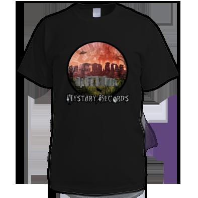 Mystary Records Stonehenge Logo T-Shirt