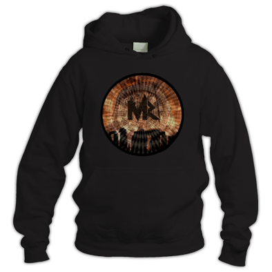 Mystary Records Devils Tower Logo Hoodie