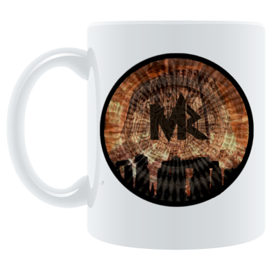 Mystary Records Devils Tower Logo Mug