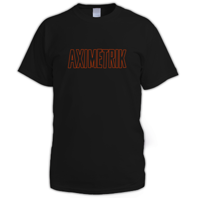 AXIMETRIK Orange Shirt for Men