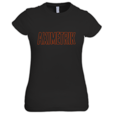 AXIMETRIK Orange Shirt for Women