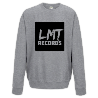 "LMT RECORDS 'I want My LMT"" Logo Crew Neck Sweater"