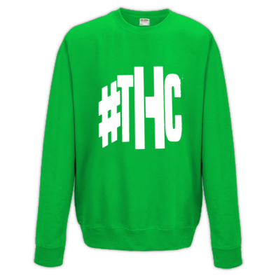 """The Hustle Continues"" #THC Crew Neck Sweater"