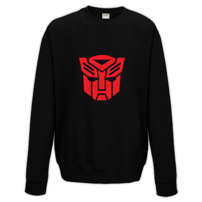 Autobot Badge Crew Neck Sweater