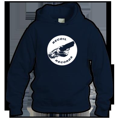 Recoil logo hoodie (vinyl style)