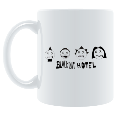 Blackout Hotel Heads Mug