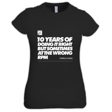 10 YEARS OF DOING IT WOMAN'S TEE
