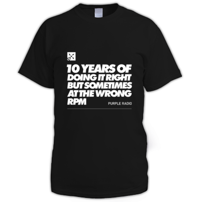 10 YEARS OF DOING IT MAN'S TEE