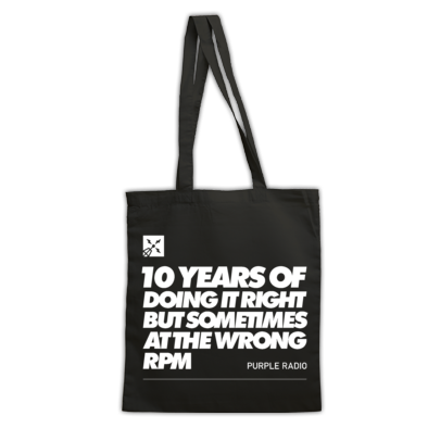 10 YEARS OF DOING IT TOTE BAG