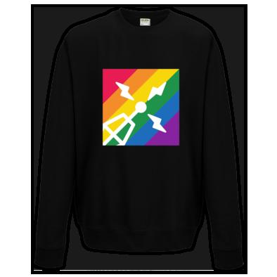 Purple Radio Pride sweatshirt