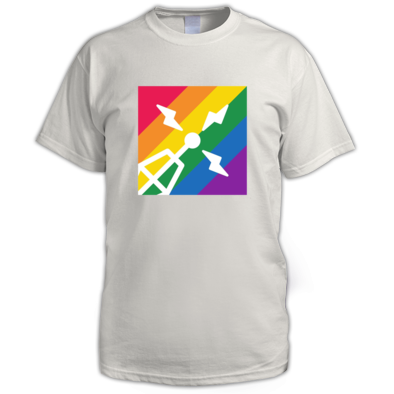 Purple Radio Pride t-shirt