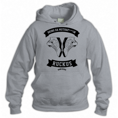 BRING DA RUCKUS HOODY ONE COLOUR