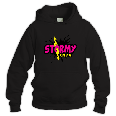 Stormy On YA pink logo
