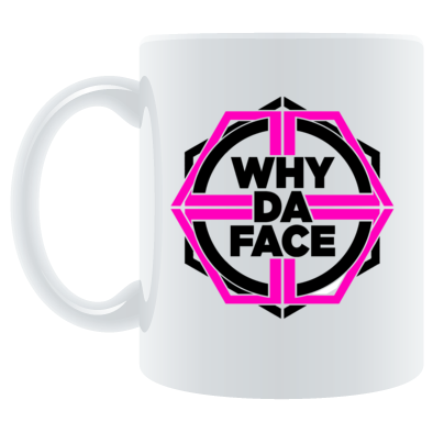why da Face Pink Logo Official