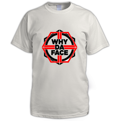 why da Face Red Logo Official