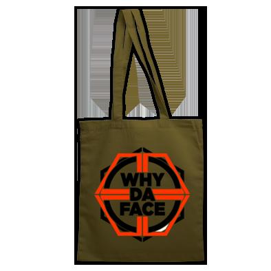 why da Face Orange Logo Official