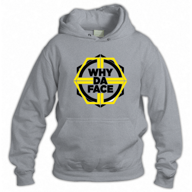 why da Face yellow Logo Official