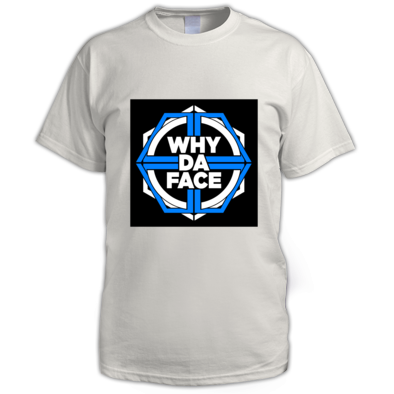 Why Da Face Blue Logo