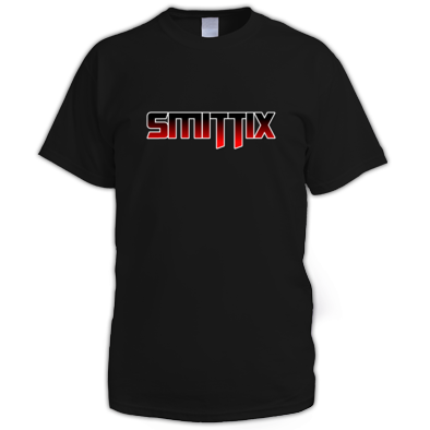 Smittix Men's T-Shirt Red Logo