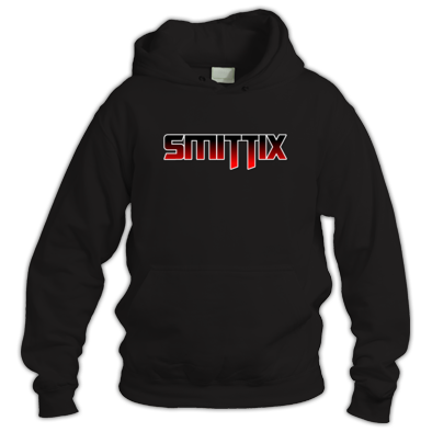 Smittix Hoodie Red Logo