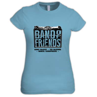 Band Of Friends - Womens T-Shirt (Black Logo)