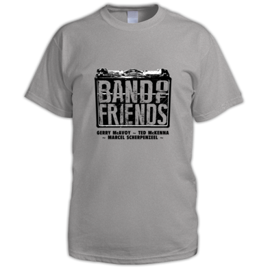 Band Of Friends - Mens T-Shirt (Black Logo)