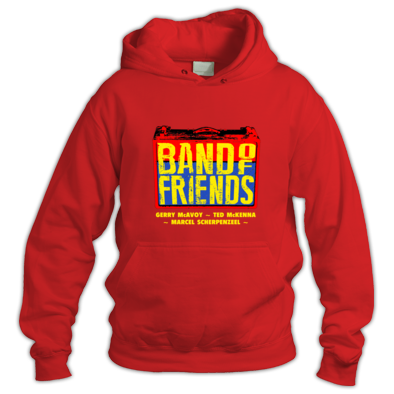 Band Of Friends Hoodie (Colour Logo)
